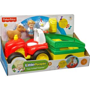 Fisher-Price Tracteur Little People (BJT40)