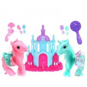 Fomax Mon château avec licorne Poney et accessoires