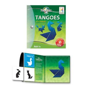 Smart Games Tangram magnétique : Tangoes animaux
