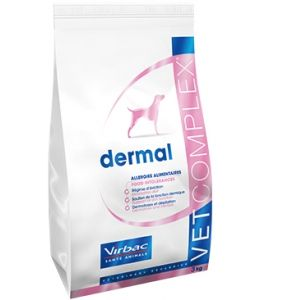 Virbac Vet Complex Dermatology Adult Dog contenances 7,5 kg