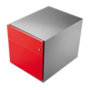 Caisson bureau rouge comparer 48 offres for Maxi meuble montreal