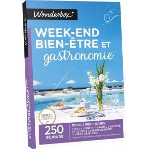 wonderbox week end bien tre et gastronomie coffret cadeau comparer avec. Black Bedroom Furniture Sets. Home Design Ideas