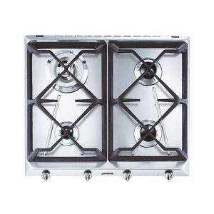 Smeg SRV564GH3 - Table de cuisson gaz 4 foyers