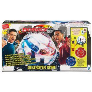 Hasbro Coffret Dôme de combat + 2 toupies Beyblade