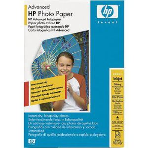 HP Q8008A - 60 feuilles de papier photo Advanced Glossy 250g/m² (10 x 15 cm)
