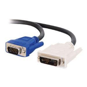 C2g 81205 - Câble VGA DVI-A (M) vers HD-15 (M) 1m