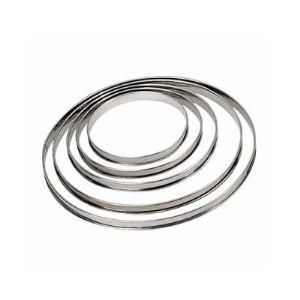 De Buyer 3091.20 - Cercle à tarte bord roulé (20 cm)