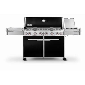 Weber Summit E-670 - Barbecue à gaz 6 brûleurs + réchaud + rôtissoire