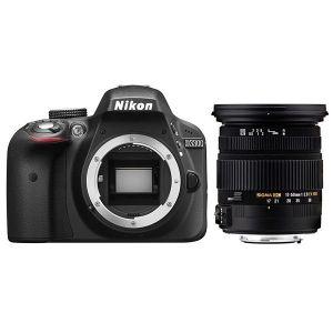 Nikon D3300 (avec objectif 17-50mm)
