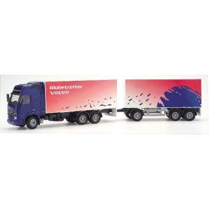 Joal 349 - Camion Volvo FH12 Globetrotter Xl remorque double - Echelle 1:50