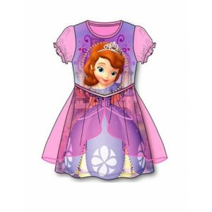 Robe rose princesse Sofia