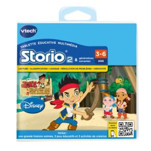 Vtech Jeu tablette Storio 2 : Jake et les pirates