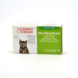 Clément Thékan Milprazikan 4 mg/10 mg pour petits chats