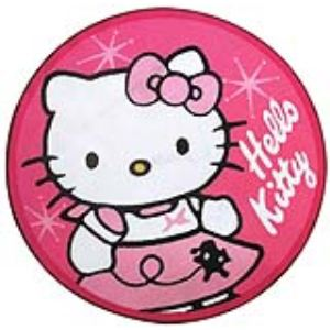 Fun House Tapis shape Hello kitty (90 x 90 cm)