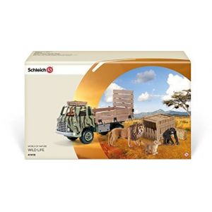 Schleich 41410 - Camion Safari-Sauvetage d'animaux