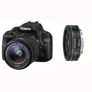 Canon EOS 100D (avec 2 objectifs 18-55mm et 40mm)