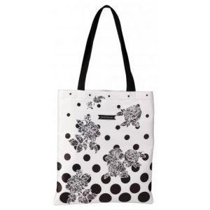 clairefontaine sac shopping suzie q en polycanvas enduit brillant doublure polyester 115201c. Black Bedroom Furniture Sets. Home Design Ideas