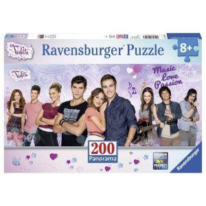 Ravensburger Puzzle Panorama - Violetta et ses amis 200 pièces