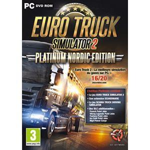 Euro Truck Simulator 2 : Nordic Platinum : Euro truck 2 + Scandinavia + Paintjobs sur PC