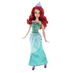 Mattel Disney Princesse paillettes : Ariel (CFB74)