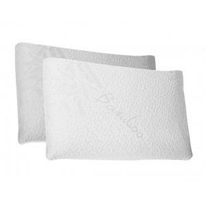 Evazen 2 oreillers en mousse à mémoire de forme (40 x 60 cm)