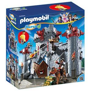 Playmobil 6697 Super4 - Citadelle transportable du baron