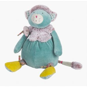 Moulin roty Peluche Chat bleu Les Pachats