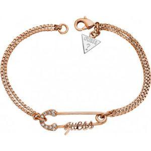 Guess Ubb11390 - Bracelet Epingle double chaîne pour femme