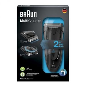 Braun MG5010 - Tondeuse barbe et cheveux MultiGroomer