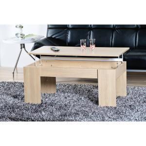 Table basse Open avec plateau relevable