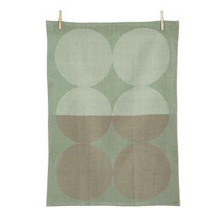 Ferm Living Torchon Moon Tea Towel en textile