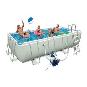 piscine intex ultra silver comparer 20 offres. Black Bedroom Furniture Sets. Home Design Ideas