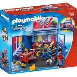 Playmobil 6157 City Action - Garage à moto
