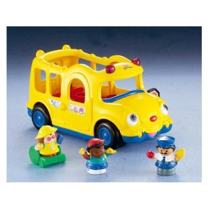 Fisher-Price J0894 - Coffret bus et figurines