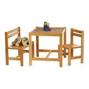 Pinolino Ensemble table et chaises Sven 3 pièces pour enfant