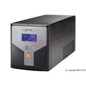 Infosec E2 LCD 1000 - Onduleur 1000 VA prise IEC