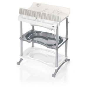 Brevi Babidoo - Table à langer avec baignoire