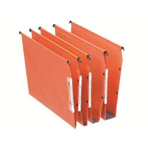 Esselte Boîte de 25 dossiers suspendus pour armoire Dual en kraft (fond : V)