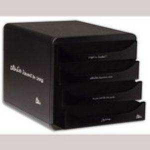 Quo Vadis Module de rangement Big Box 4 tiroirs (A4)