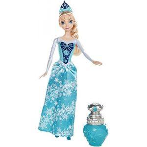 Mattel Poupée Princesse Elsa Couleur Royale La Reine Des Neiges