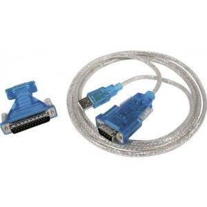151307 - Adaptateur USB 2.0 à série DB9/DB25