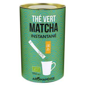 Aromandise Thé vert Matcha bio instantané