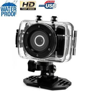 Yonis Y-cse9 - Mini caméra embarquée sport étanche HD 720P caisson waterproof