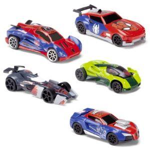 Majorette 5 voitures Spiderman (assortiment aléatoire)