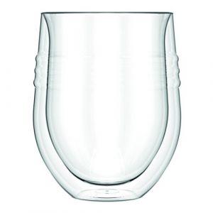 Bodum Skal - Set de 2 verres a vin rouge double paroi 0.32L