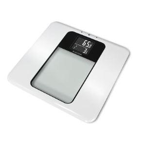 Salter 9063 WH3R - Pèse-personne électronique en verre