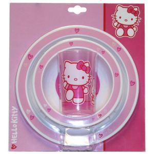 Spel 004884 - Set dîner 3 pièces Hello Kitty