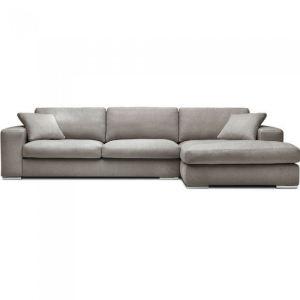 Canapé d'angle Bianca en tissu