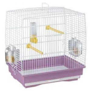 Ferplast Cage Rekord 1 Blanche pour oiseau
