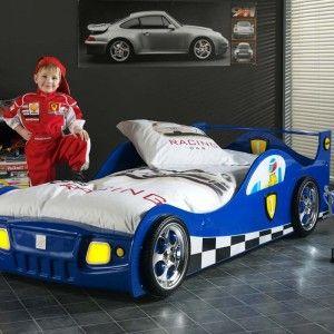 Vipack Furniture Lit voiture Monza pour enfant 90 x 200 cm